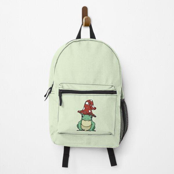 cottagecore mushroom frog Backpack