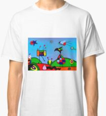 My Homage To Miro - The Raven King and I Classic T-Shirt