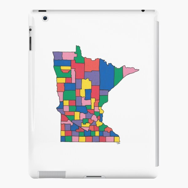 County Map iPad Snap Case