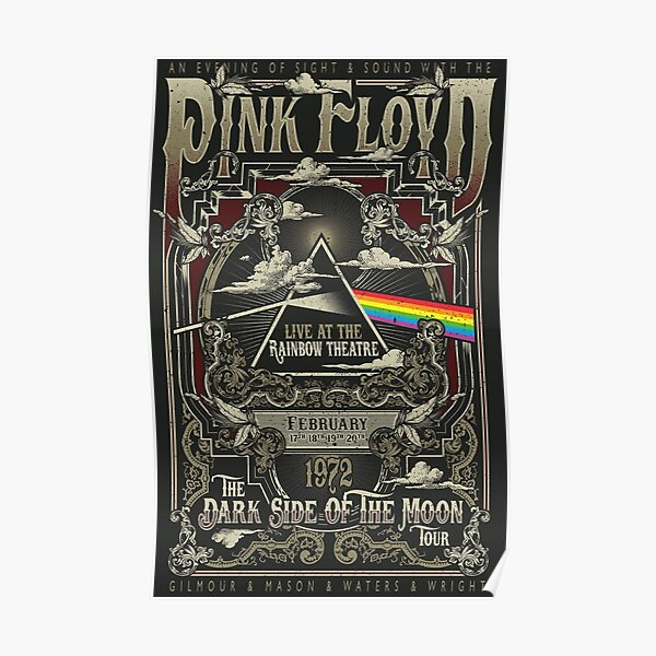 Red floyd Poster