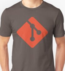 Git - Red logo Unisex T-Shirt