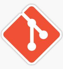 Git - Red logo Sticker