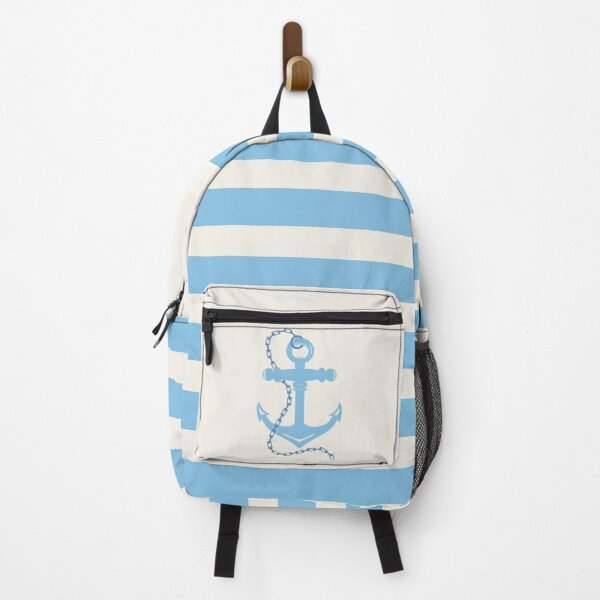 AFE Baby Blue Anchor & Chain Backpack