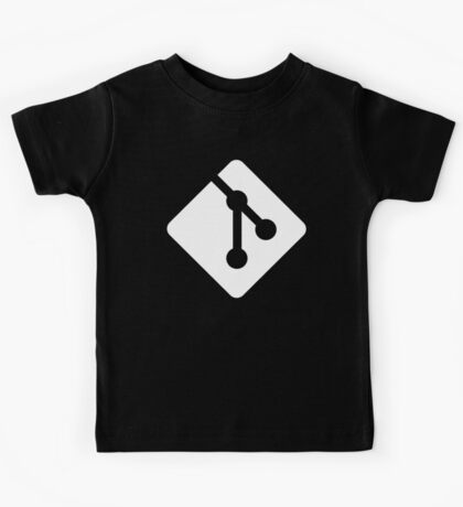 Git - White logo Kids Clothes