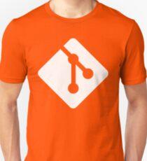 Git - White logo Unisex T-Shirt