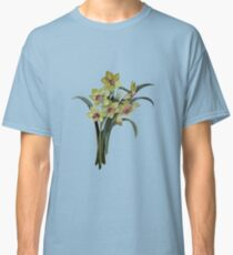 Lent Lily Spring Bouquet Vector Classic T-Shirt