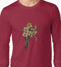Lent Lily Isolated Long Sleeve T-Shirt