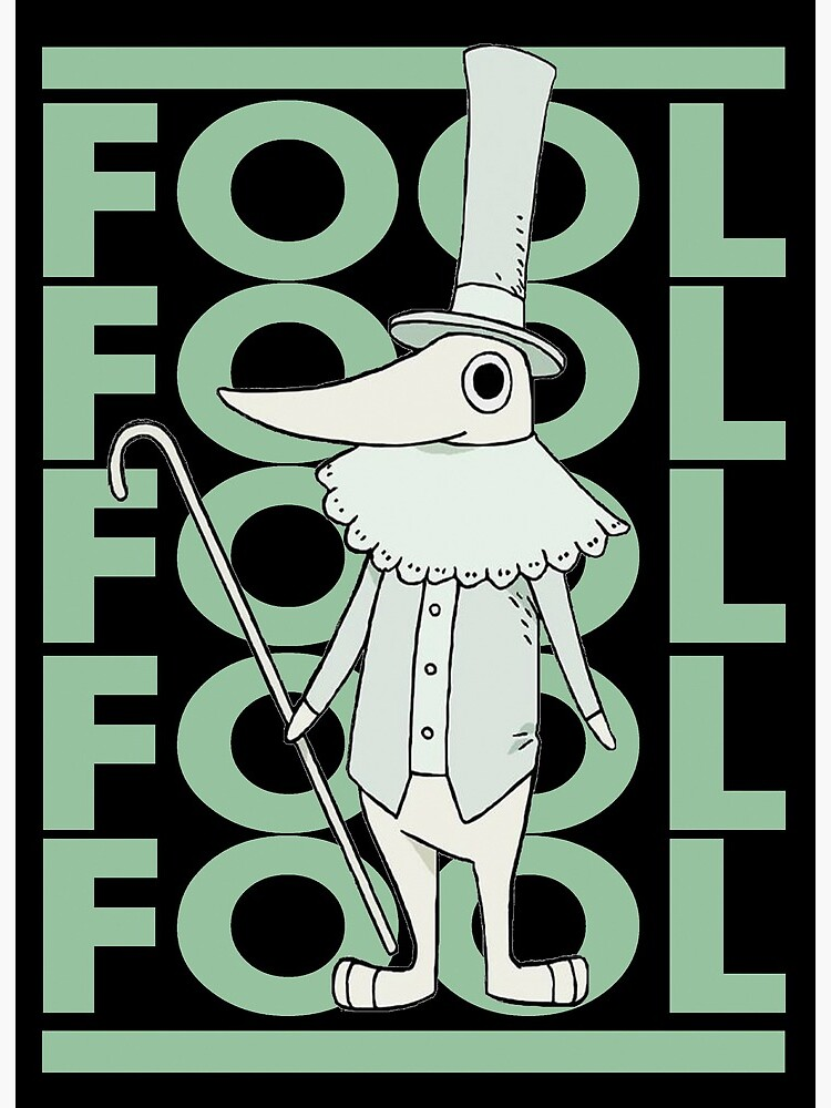 Adventure Anime Soul Eater Character Fool Art Board Print By