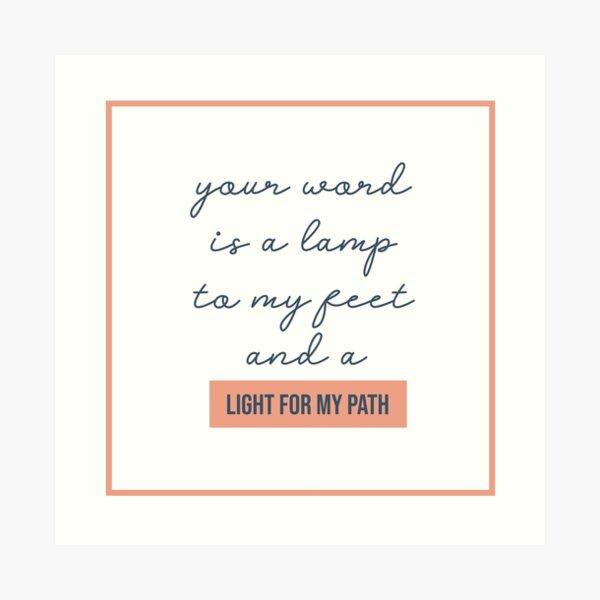 NM Light For My Path Art Print