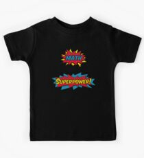 Math is my Superpower Kids Tee