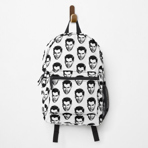 Anthony Perkins' Head Painting Backpack