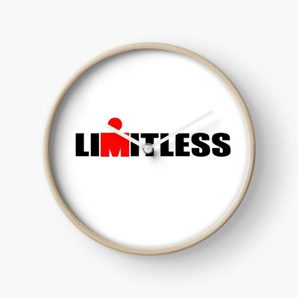 ironman limitless print Clock