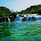 Krka Falls by Aaron Fisher
