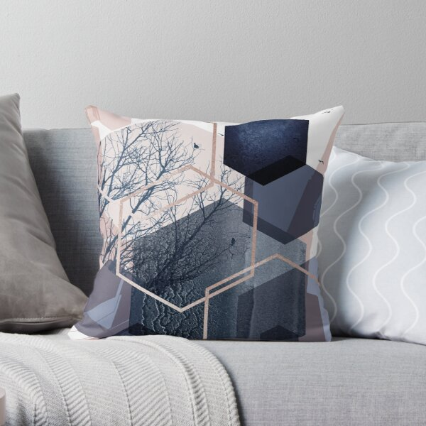 Abstract Landscape Part 1 Throw Pillow