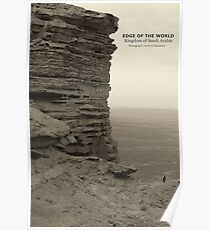 edge of the world Poster
