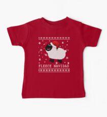 Fleece Navidad Cute Weihnachten Tshirt Baby T-Shirt