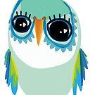 Fancy wings owl by annieclayton