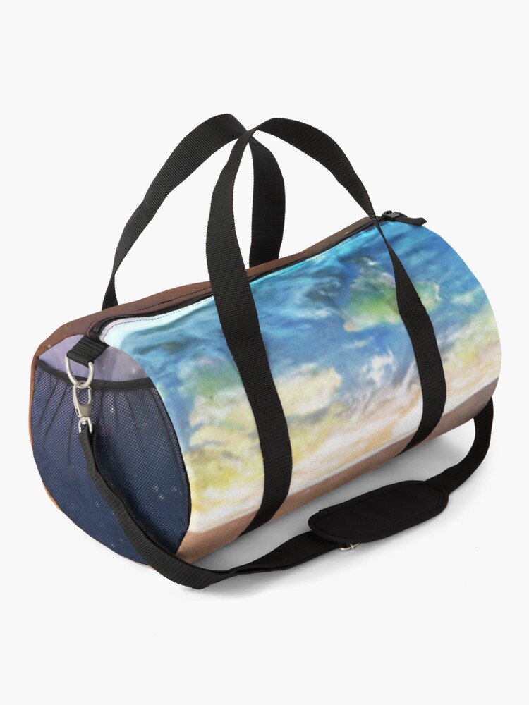 Alternate view of Flat Earth #FlatEarth Duffle Bag
