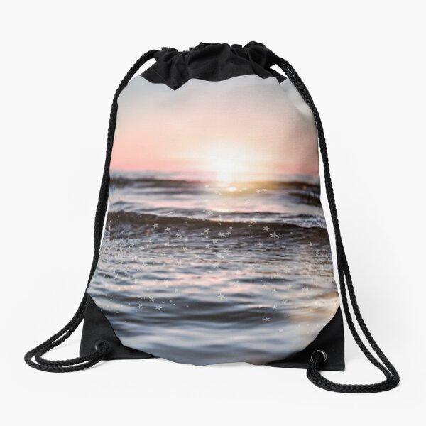 Sunset Sparkle  Drawstring Bag