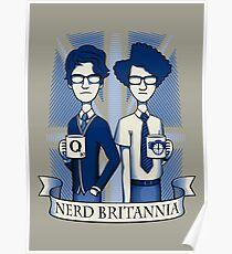 Nerd Britannia Poster