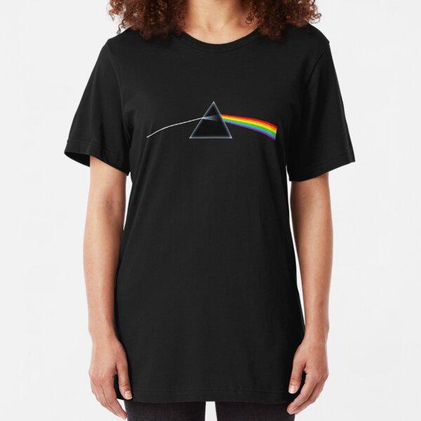 rainbow pink Slim Fit T-Shirt