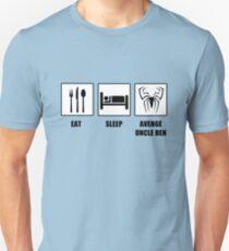 Eat Sleep Avenge Uncle Ben T-Shirt