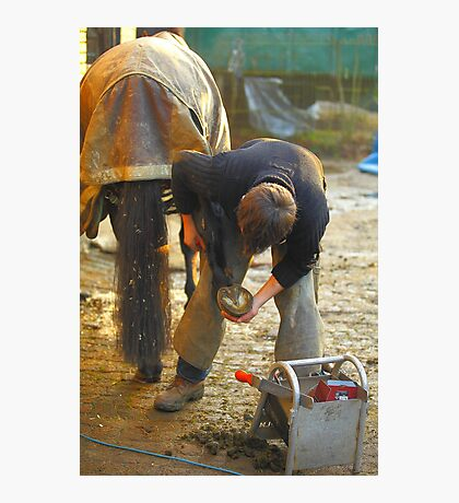 Farrier,s Lot Photographic Print