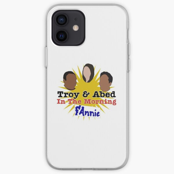 Troy and Abed and Annie in the Morning iPhone Soft Case