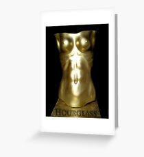 Hourglass Greeting Card
