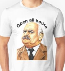 Open all hours - Ronnie Barker plays Arkwright T-Shirt