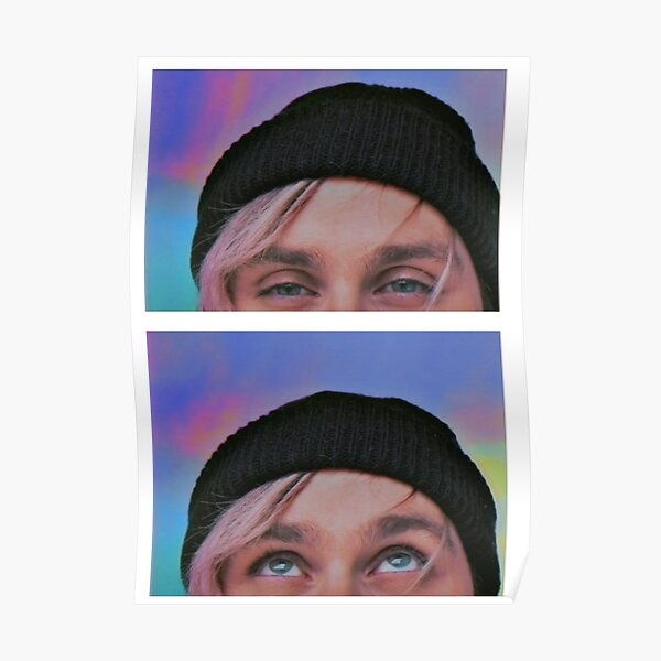 michael clifford eyes wildflower Poster
