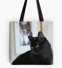 Cat Picture Tote Bag