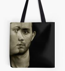 Soft romantic picture of a young couple Tote Bag