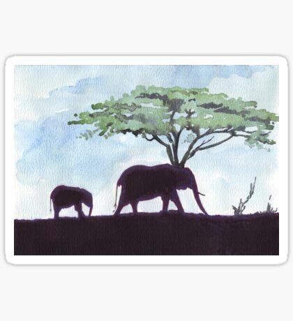 Africa's Grandest Animal Sticker