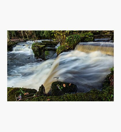 Rivelin Valley Falls Photographic Print