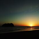 Island Sunrise by jlv-