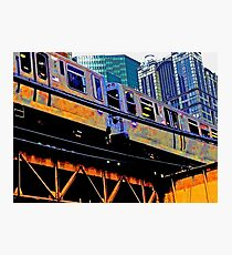 Chicago l, Chicago el - series: 1 Photographic Print