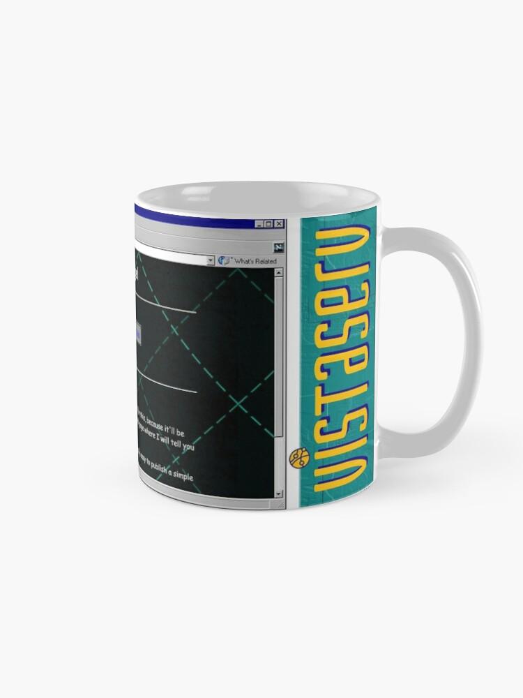 Alternate view of orioln23 on Vistaserv.net Mug