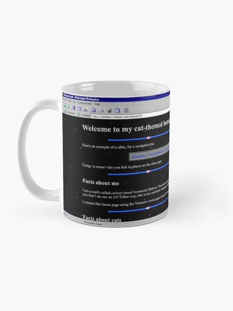 Alternate view of misterdz123 on Vistaserv.net Mug