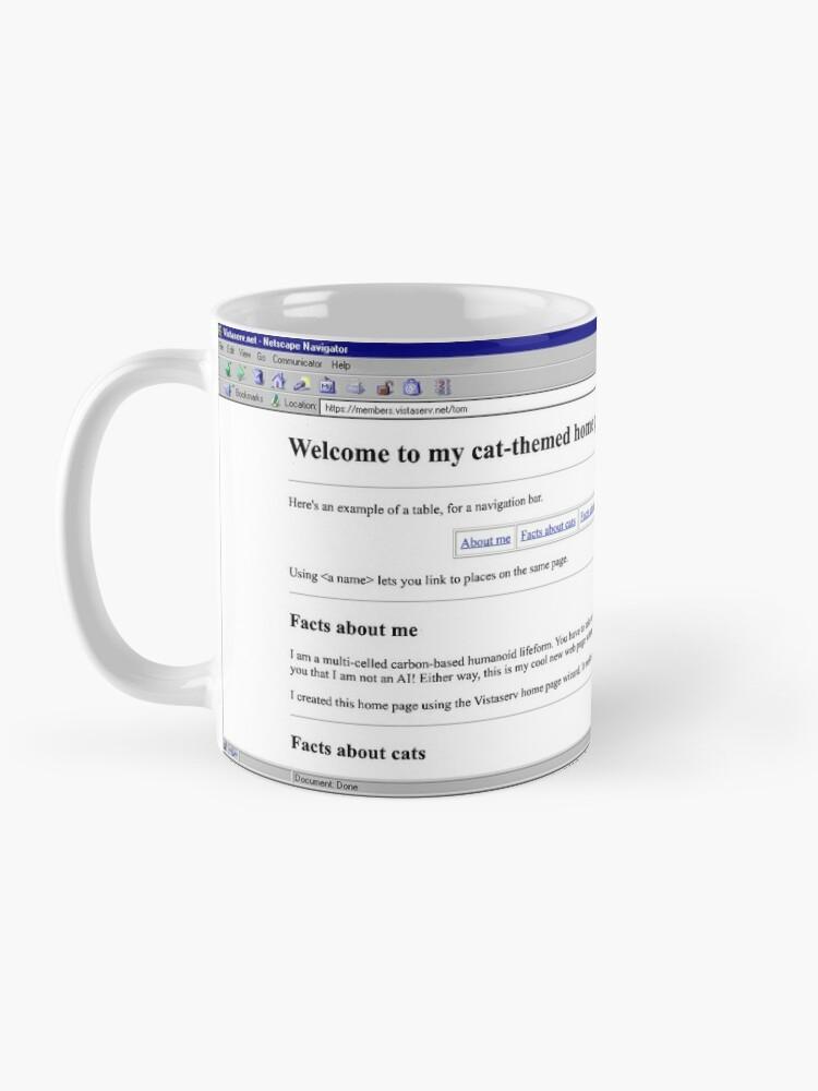 Alternate view of tom on Vistaserv.net Mug