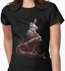 Cyberpunk 017 Womens Fitted T-Shirt