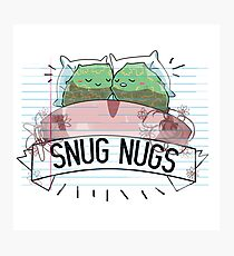 snug nugs Photographic Print
