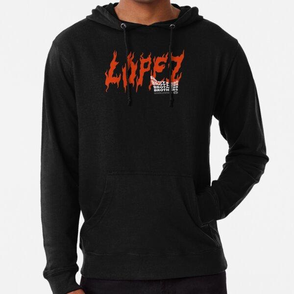 LOPEZ BROTHERS FIRE LOGO Lightweight Hoodie