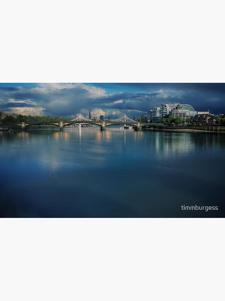 Battersea Bridge by timmburgess
