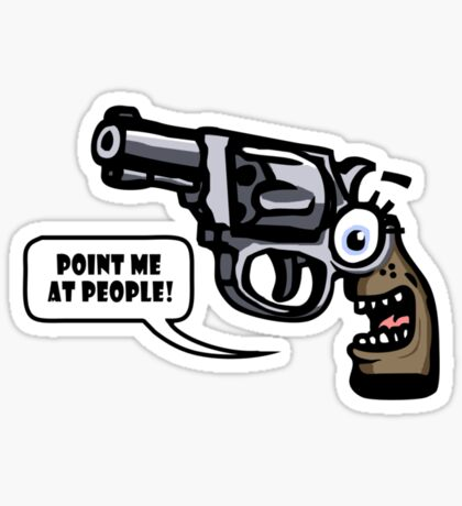 Shooty McBangbang Sticker
