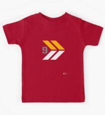 Arrows 1 - Yellow/Grey/White Kids Tee