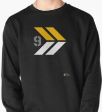 Arrows 1 - Yellow/Grey/White Pullover