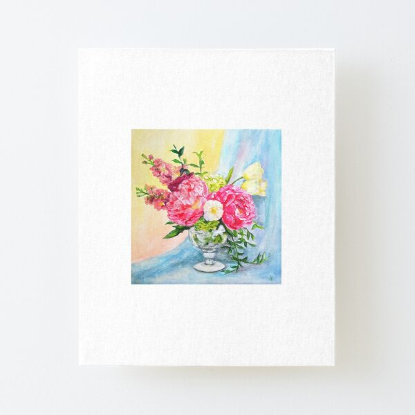 Spring Melody Canvas Mounted Print