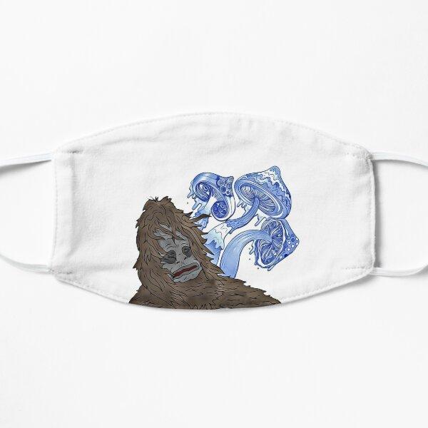 Blue Mean-Eyes Sassy Mike Nolan Big Lez Show Flat Mask