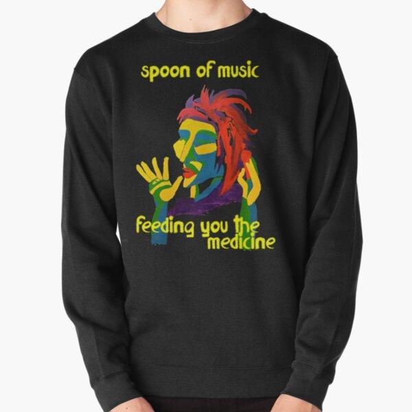 Spoon of music Pullover Sweatshirt
